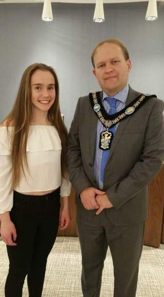 Julia & Lord Mayor