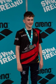 NIALL McGEOWN – DOUBLE BRONZE MEDAL WINNER IN 1500 FREESTYLE AND 400 IM